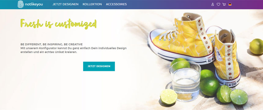 Shopware-Shop notlikeyou gewinnt Shop Usability Award