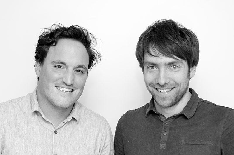 Tim Binder und Mathias Hasselmeier vom Shopware Shop klotzaufklotz