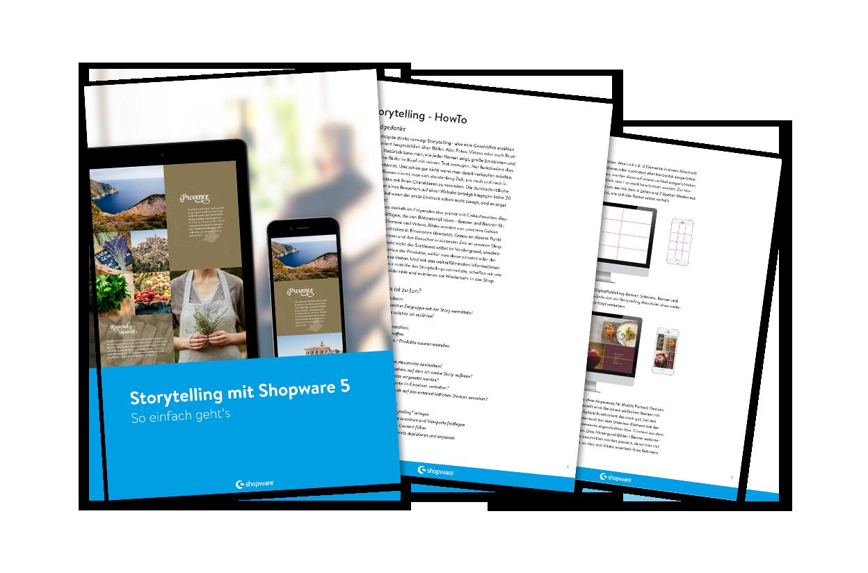 Storytelling mit Shopware 5