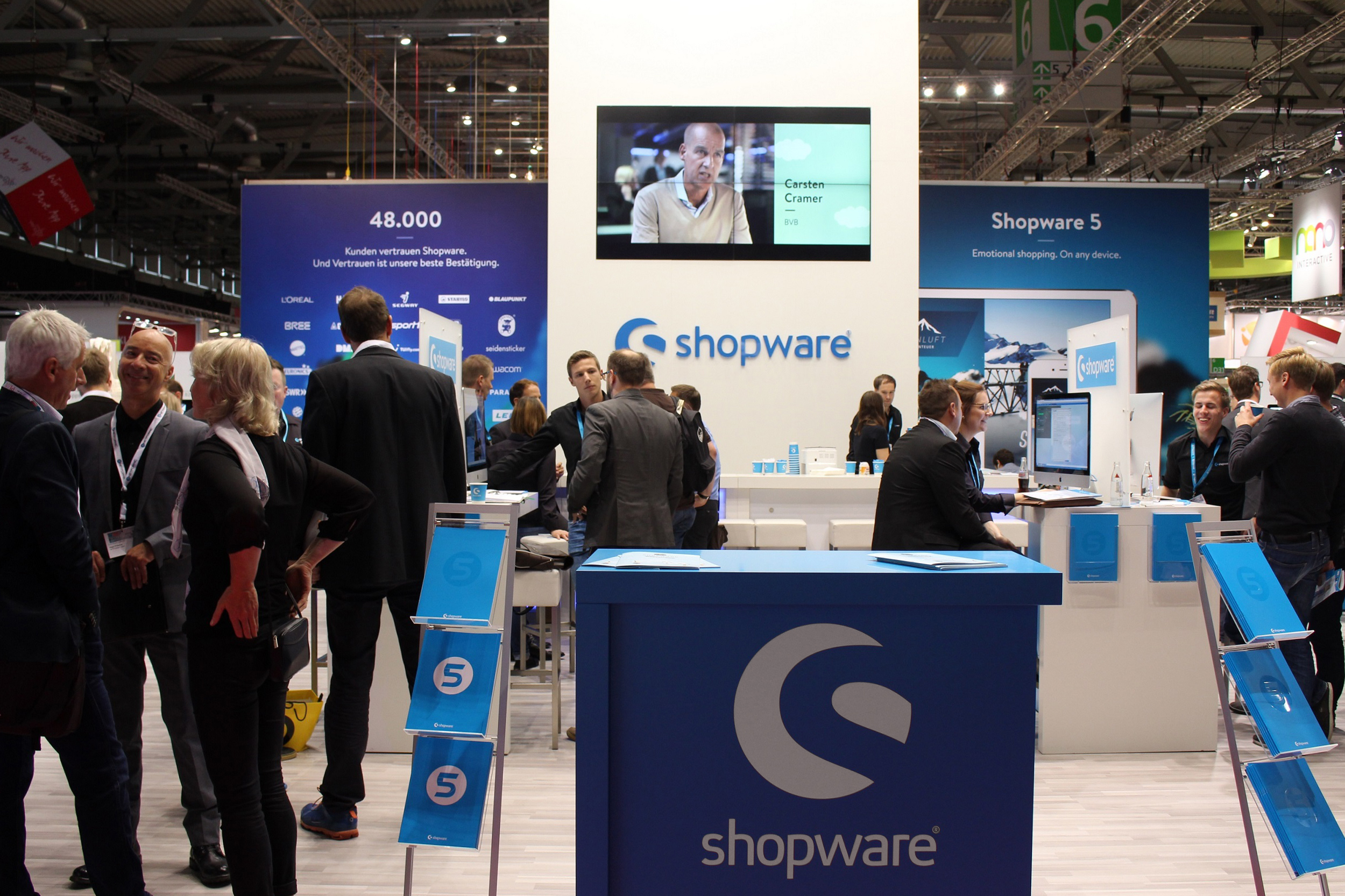 Shopware-dmexco-Stand