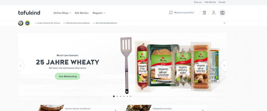 Shopware-Shop Tofukind gewinnt Shop Usability Award