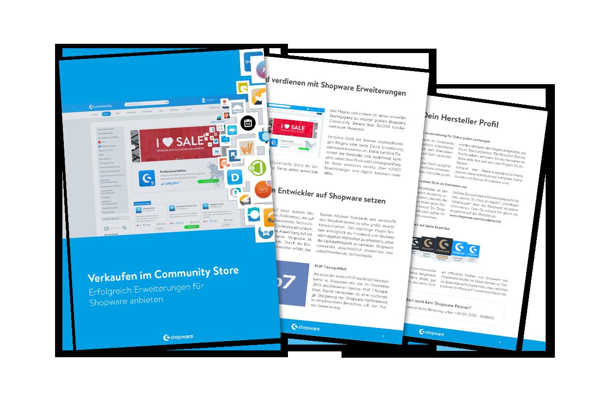 Plugin Sales Guide: Erfolgreich Erweiterungen für Shopware anbieten