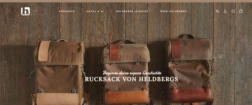 Shopware-Shop Heldbergs gewinnt Shop Usability Award