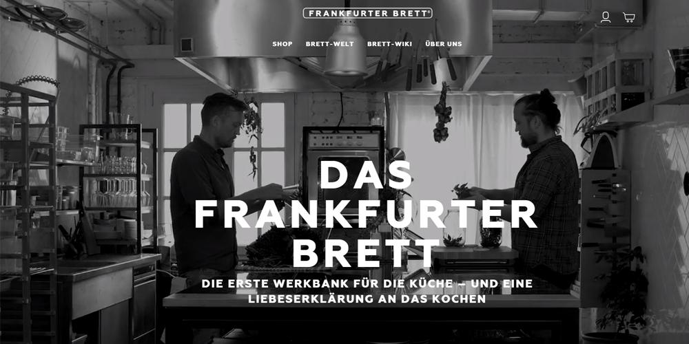 Shopware-Shop Frankfurter Brett