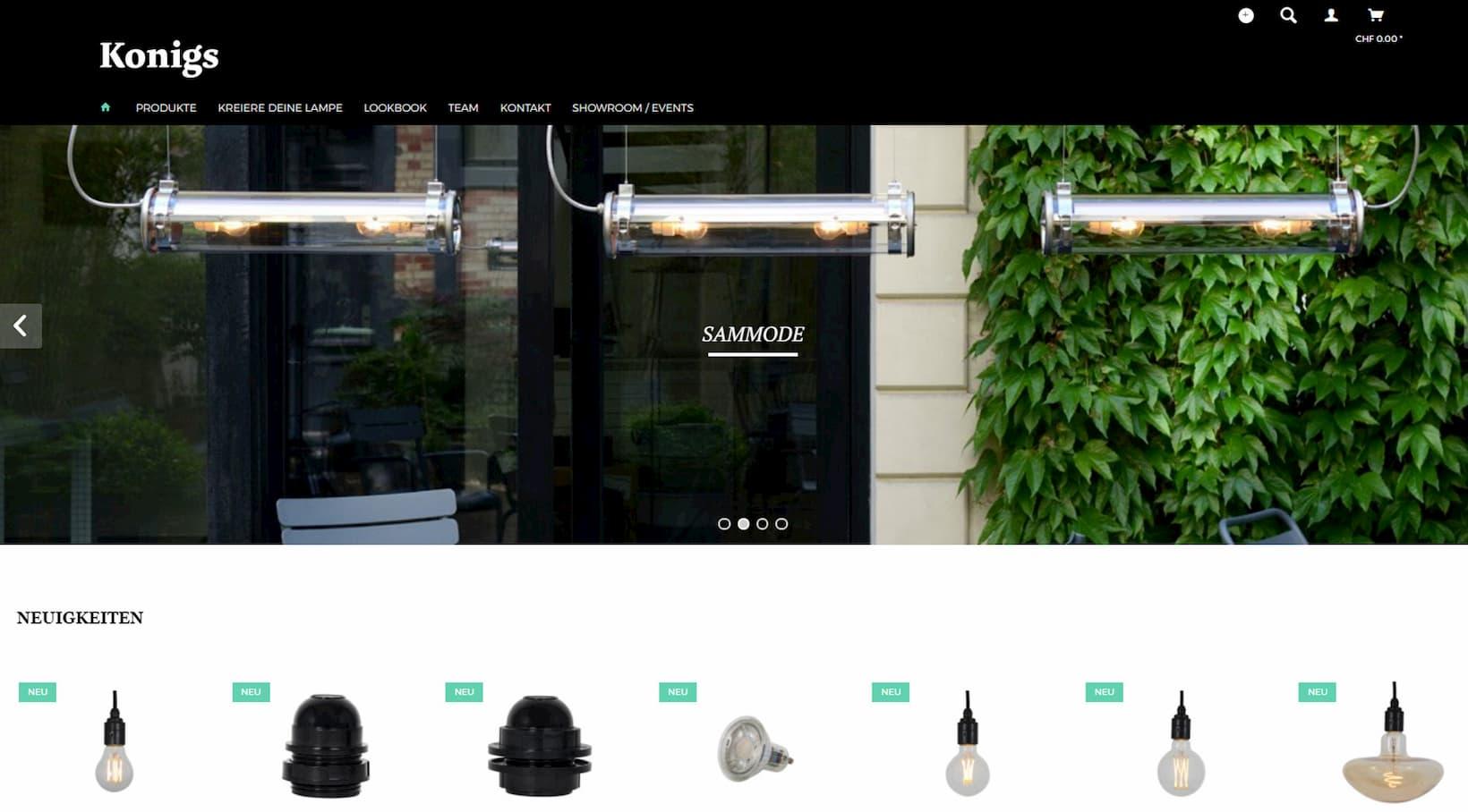 Shopware-Shop Konigs.ch