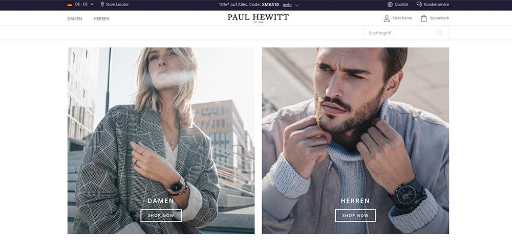Paul_Hewitt Onlineshop Startseite
