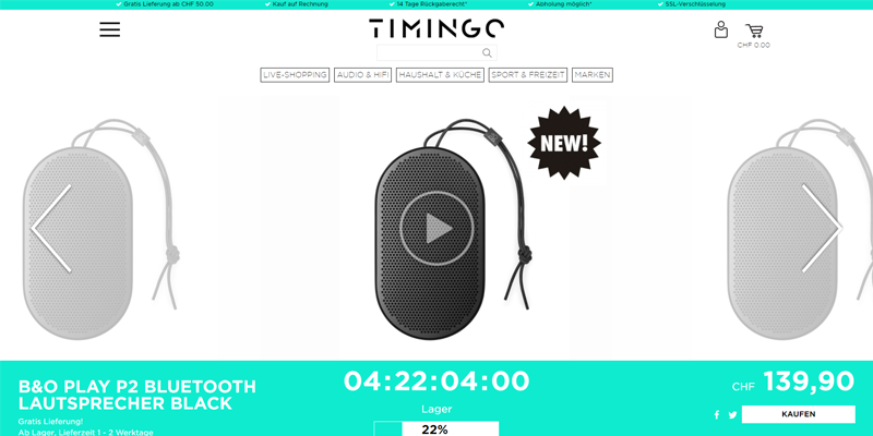 Liveshopping_timingo